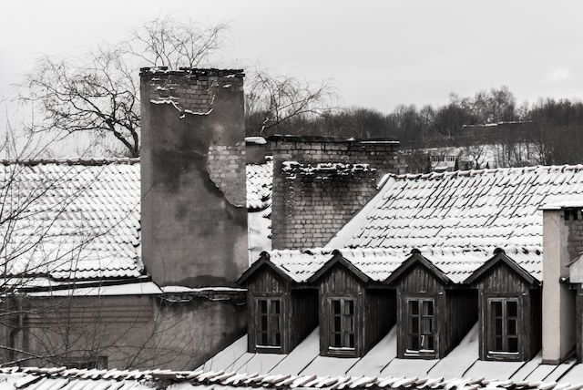 Across the old roof tiles. Photo by Vic Istomin on EyeEm