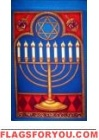 Hanukkah Garden Flag - 1 left