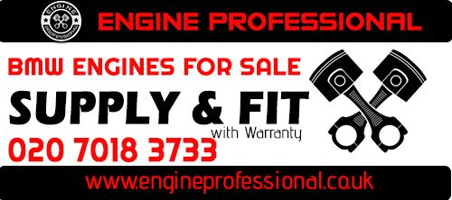 BMW 2 series Engines for sale - Supply & Fit at Affordable Prices