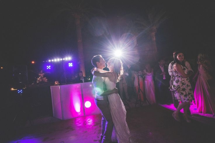 South of France Wedding first dance