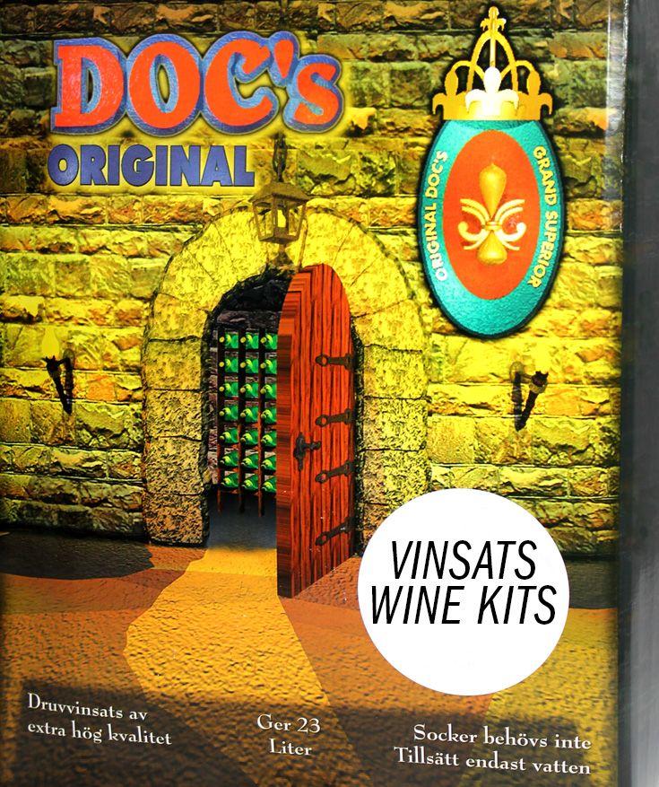 DOC'S WINE KITS / VINSATS