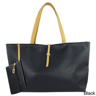 @Overstock - Oasis Handbag 'Karen' Zip-top Messenger Tote - This vegan leather tote is spacious enough for all of your day essentials, and even makes a chic weekend bag. The simple zip-top opens to a fully lined interior with organizational wall pockets.  http://www.overstock.com/Clothing-Shoes/Oasis-Handbag-Karen-Zip-top-Messenger-Tote/8893425/product.html?CID=214117 $36.49