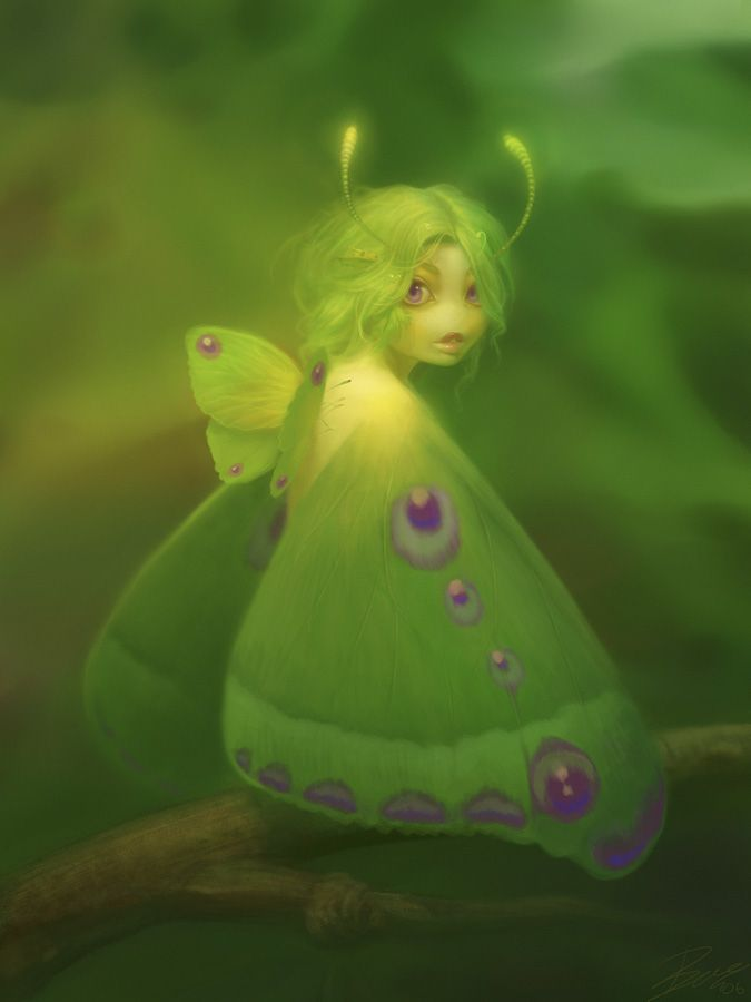 pixiewinksfairywhispers:  fairyflutters: Heaven could be like the pixie fairies of Bubblegum Forest. You only see them if you really believe in them.  ~ Eric Cartman
