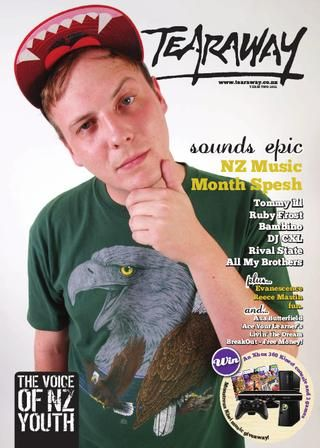 Tearaway - Term 2 | 2012 with Tommy Ill on the cover!
