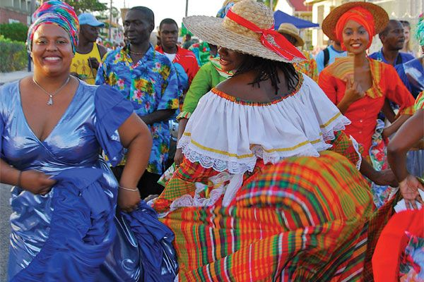 Experiencing the Crop Over festival in #Barbados