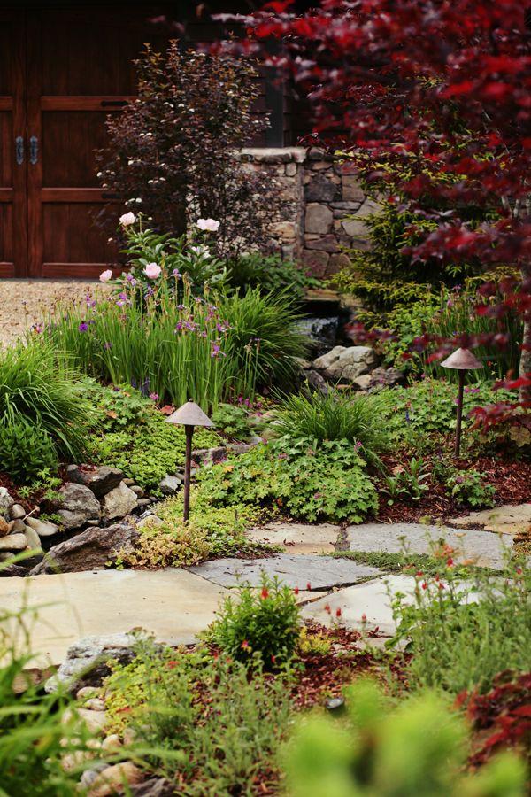 landscape landscape design ideas outdoor living space ideas green space ideas north - Garden Ideas North Carolina