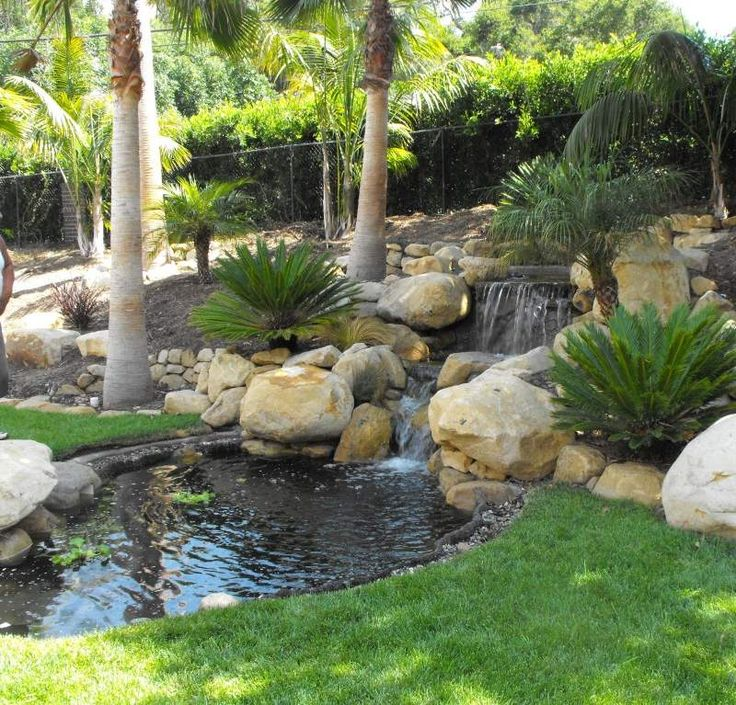 44 best Backyard images on Pinterest Garden waterfall Back