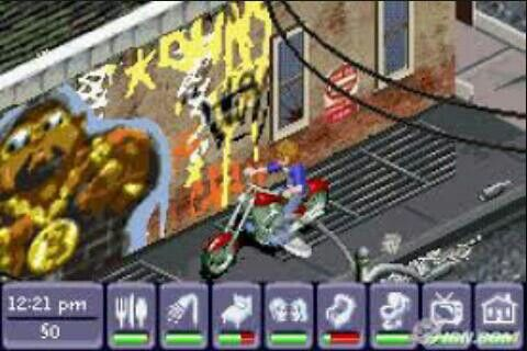 This was one was my favorite out of the Sims GBA games.   G;)