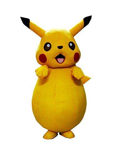 Winnie Pokemon Pikachu Mascot Costume Pikachu Costume (S, As Picture) Winnie --what?