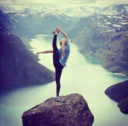 rhytmyc gymnastic, girl, nature :))