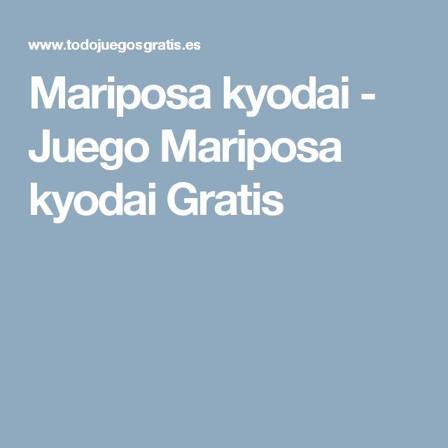 Mariposa kyodai - Juego Mariposa kyodai Gratis