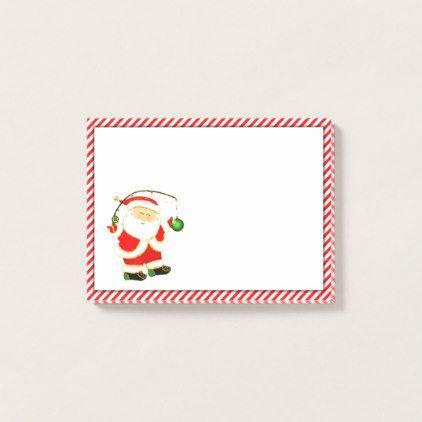 fishing holidays post-it notes - holidays diy custom design cyo holiday family