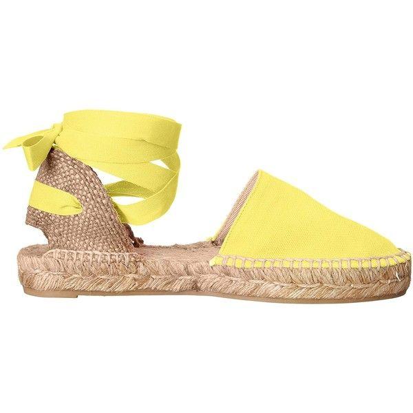 Castaner Women's Kann Flat ($70) ❤ liked on Polyvore featuring shoes, flats, flat footwear, flat espadrilles, flat shoes, castaner espadrilles and castaner shoes