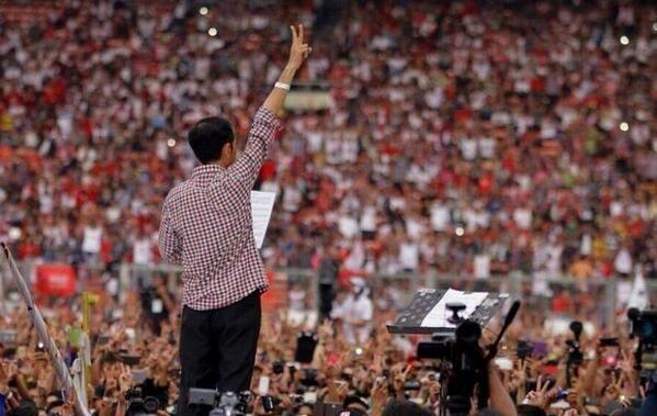 Konser Salam 2 Jari Jakarta