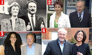 George Galloway, 58, marries fourth wife as ex father-in-law accuses him of bigamy | Daily Mail Online