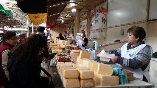 Mercado de quesos Chileno!!!!