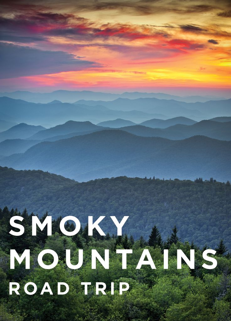Explore the Smoky Mountains on this road trip.