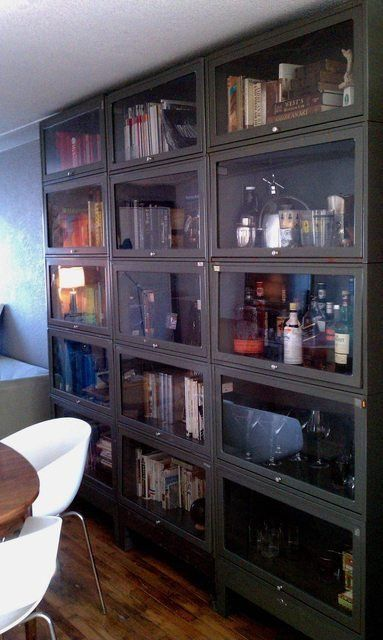 Vintage Steel Barrister Bookcases FREE by theretrofuturist