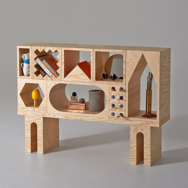 ROOM Collection : A modular storage system by designers Erik Olovsson and Kyuhyung Cho