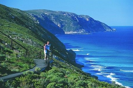 Bibbulmun Track, Western  Australia. Runs 1000kms from Kalamunda to Albany.