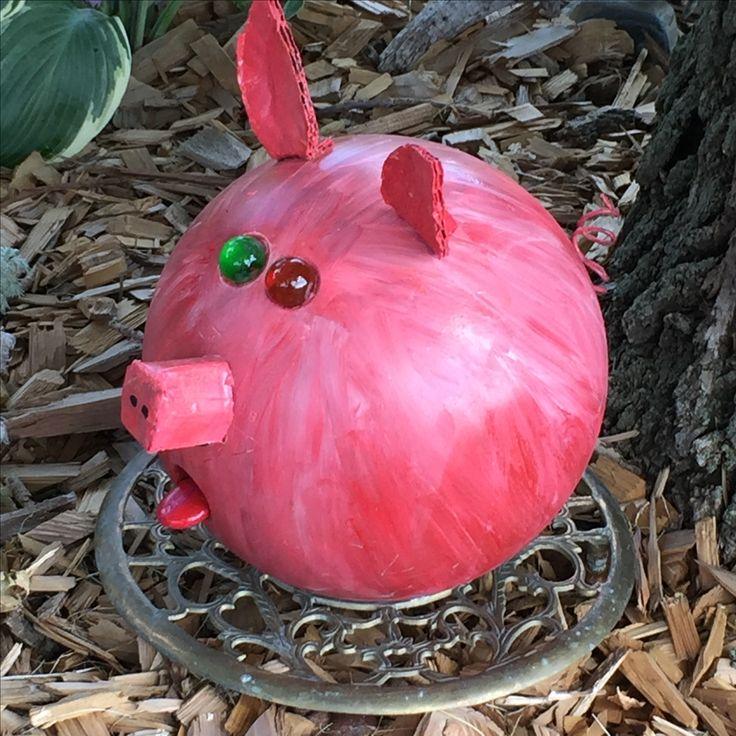 Bowling ball pig