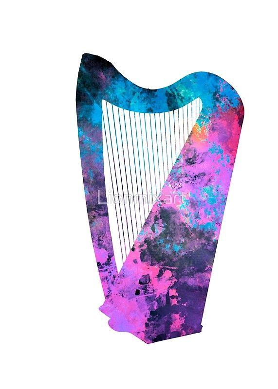 Harp art #harp