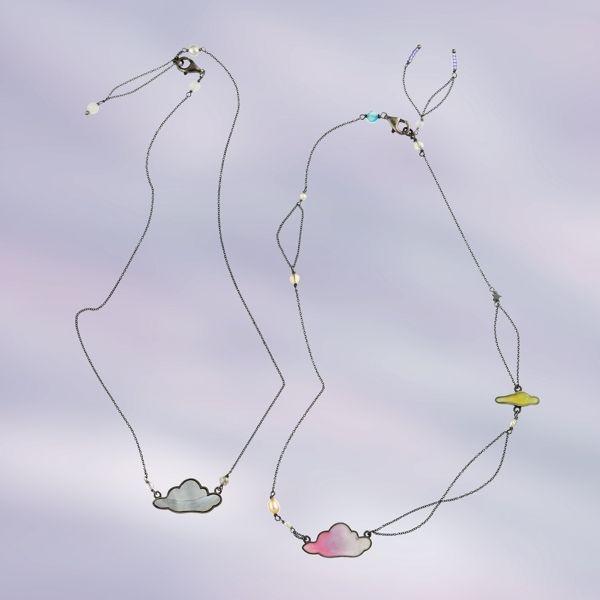 """""""cloud necklace"""