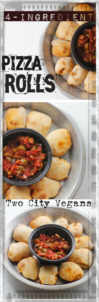 Celebrate National Pizza day with grown-up 4-Ingredient Pizza Rolls!