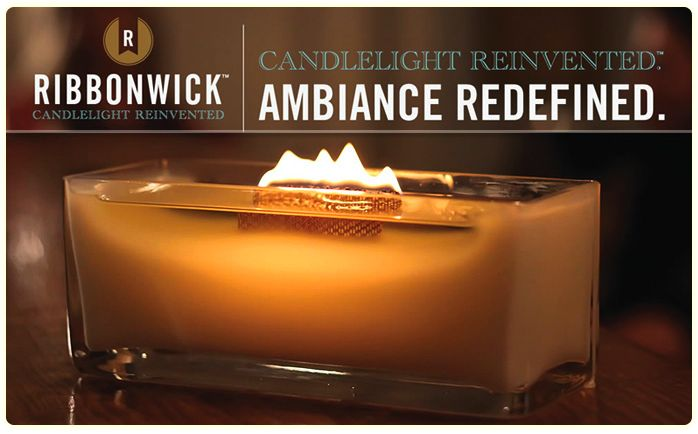 New RibbonWick Candles from  WoodWick.....can't wait to get one of these xx