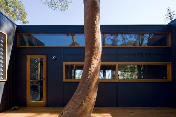 Like the blue with timber