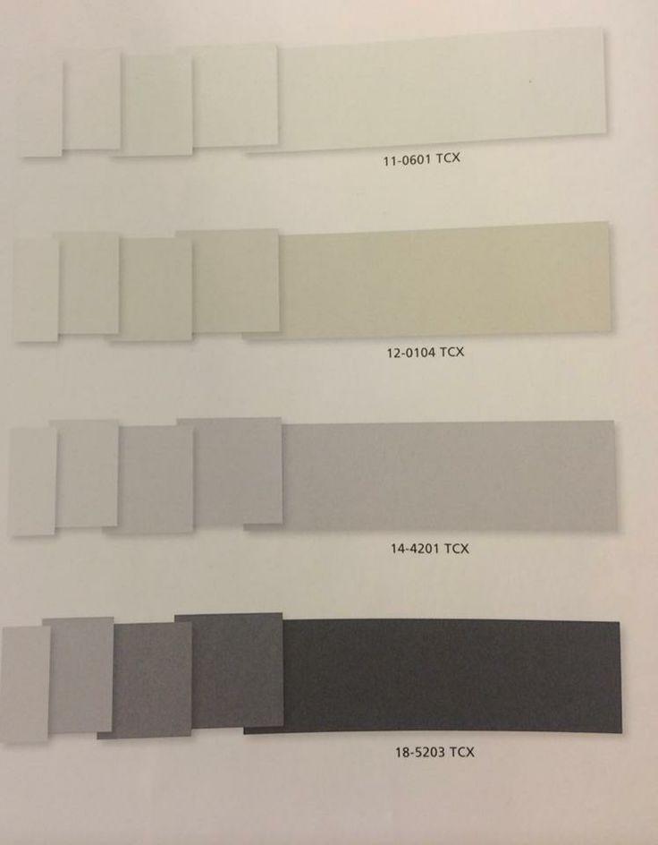 Paleta de color acromatica, predominan negros, grises y ...