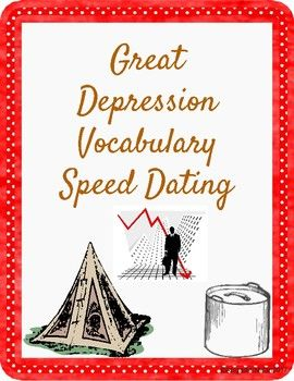 speed dating words