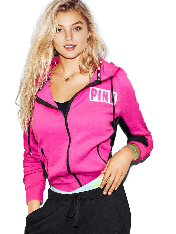 Pullover Hoodie Vs Zip Up Perfect Zip Hoodie Pink Victoria 39;s Secret Pink