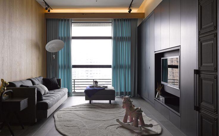 Современная трехкомнатная квартира в городе Тайбэй, Тайвань-2