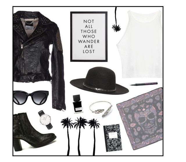 """""""Not all those who wonder are lost"""" by htc-los-angeles on Polyvore featuring moda, HTC, Hollywood Trading Company, Dot & Bo, Triwa, Daniel Wellington, MiN New York e Barry M"""