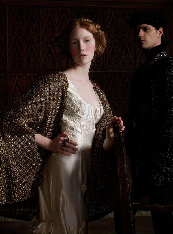 Ancient Bridal Photography : Renaissance by Caroline Knopf