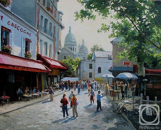 Ropyanyk Ihor. Paris. Montmartre