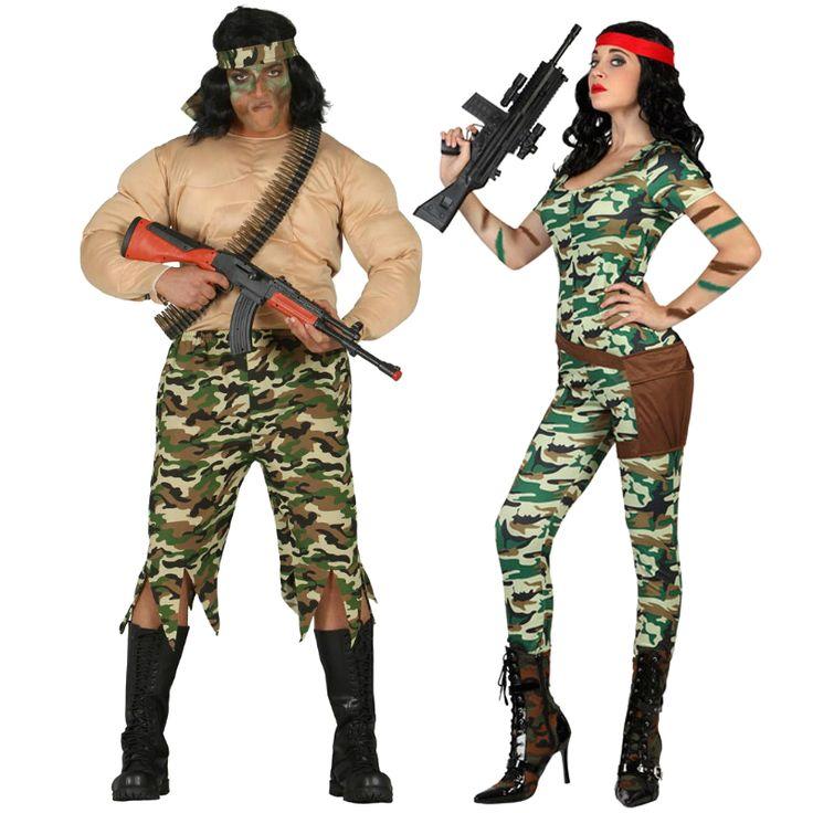 Costumes pour couples Militaires Américains #déguisementscouples