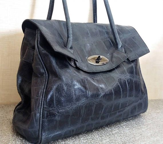 Russell and Bromley leather Bayswater Purse Black congo