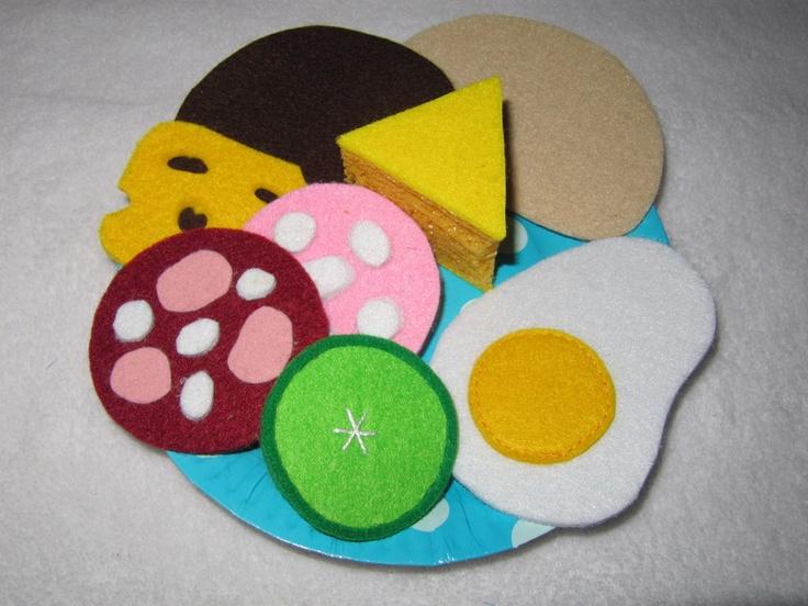 ♥ Herzhaftes für Kaufmannsladen+ Kinderküche