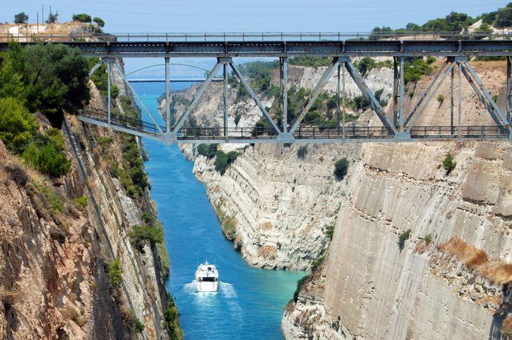 #CorinthCanal #DayTrip #Greece