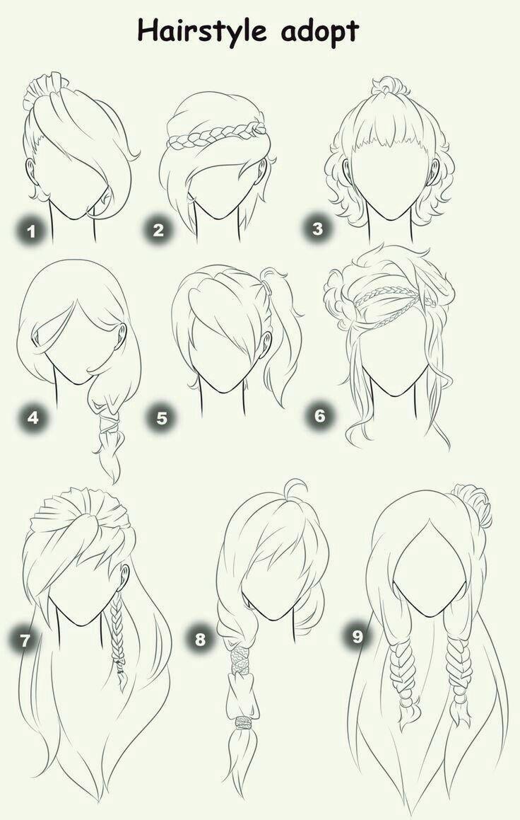 Frisur Nehmen Sie Text Frau Mädchen Frisuren Wie Manga Anime Haar