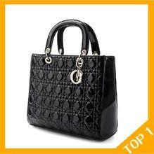 O envio gratuito de moda nova bolsa de couro acolchoado, coringa retro bolsas clássicas, inverno mulheres (China (continente)) 63,50