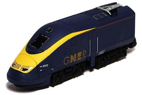 Bトレ GNER(グレートノースイースタン鉄道)Class 373 'White Rose'