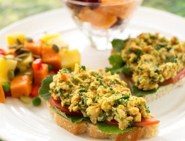 Chickpea Kale Spread | Vegan Sandwich Spread | Healthy Blender Recipes