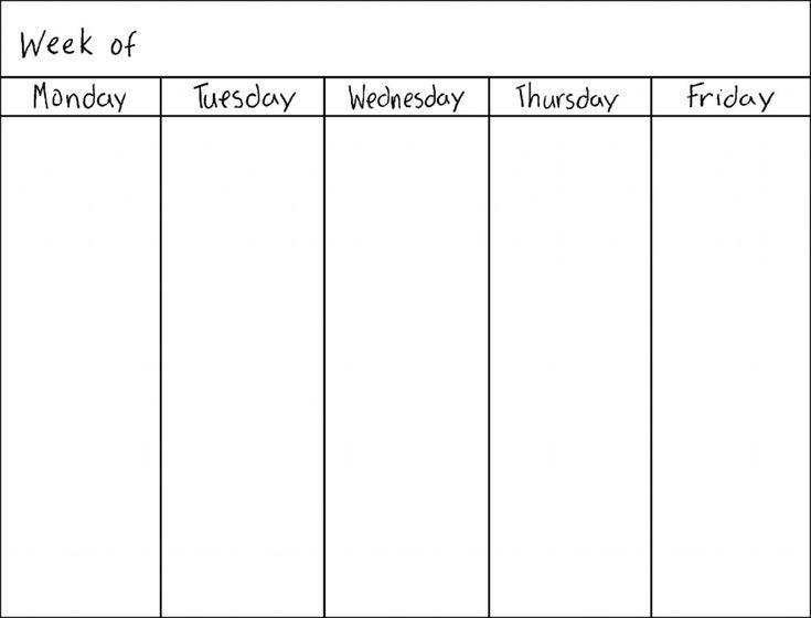 25+ unique Blank calendar 2017 ideas on Pinterest Printable - blank calendar templates
