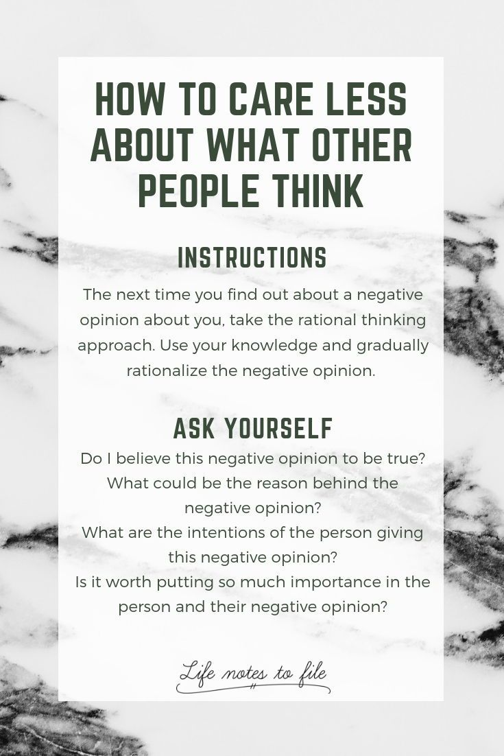 How To Care Less About What Other People Think Life Notes To File Care Too Much Quotes Mental And Emotional Health Caring Too Much