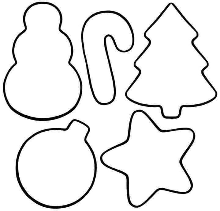 coolest preschool christmas ornament coloring pages http