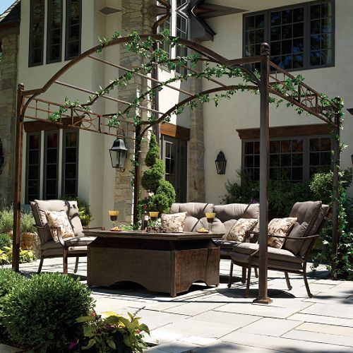 best 25 iron pergola ideas on pinterest timber pergola. Black Bedroom Furniture Sets. Home Design Ideas
