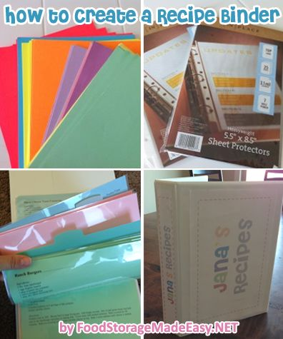 Jodi shares an updated version of how she creates recipe binders for her little sisters that contain all of her favorite recipes.